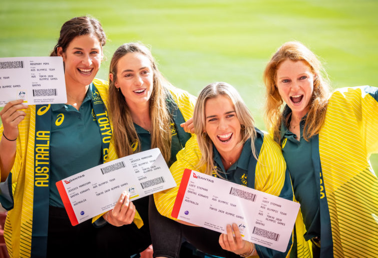 Australian rowing team