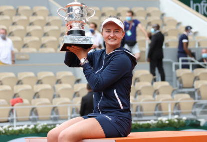 Unseeded Czech completes stunning run to claim French Open crown