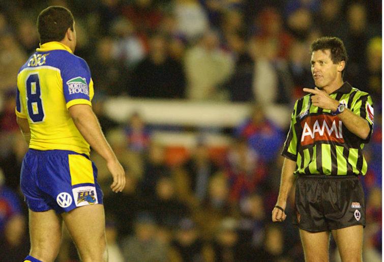 Former NRL referee Bill Harrigan