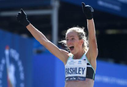Ellie Pashley's marathon effort for her first Olympic Games
