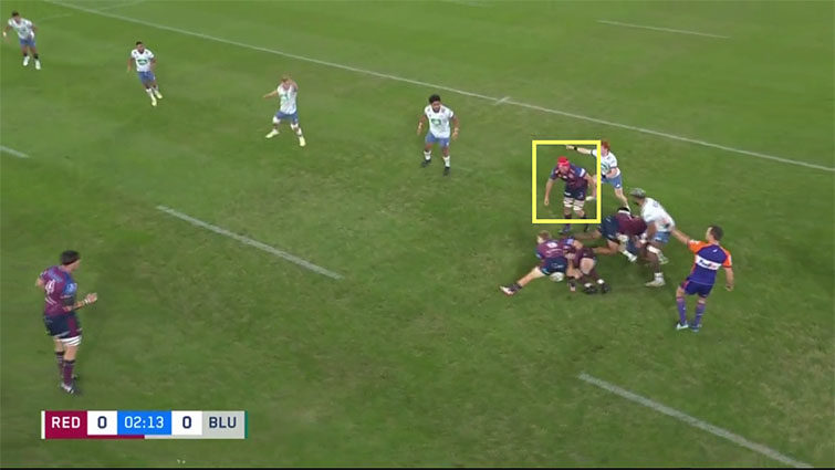 harry wilson ruck position