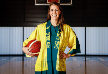 Jenna O'Hea is ready to lead the Opals at Tokyo