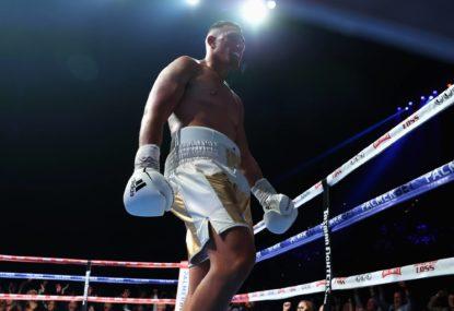 WATCH: Justis Huni scores TKO win over Gallen in epic fight