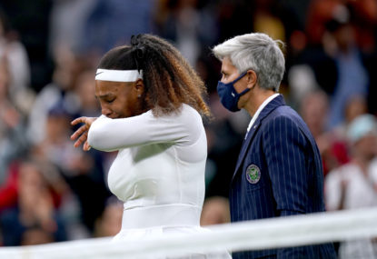 Wimbledon 2021: Barty, Federer survive scares while injured Serena bows out
