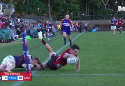 The insane Andrew Kellaway try-saver that came back to haunt the Crusaders