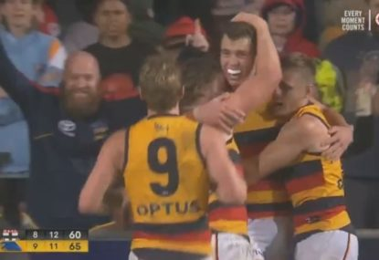 Crows young star produces magical goal to steal victory in the dying minutes