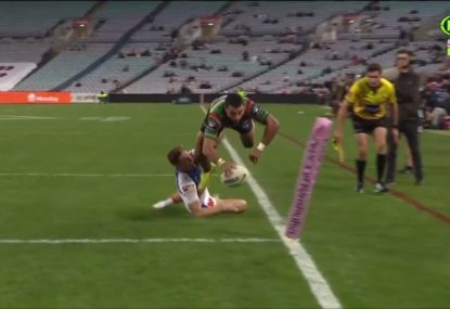 'God... we nearly let this guy go': Bennett lauds Souths try-scoring machine