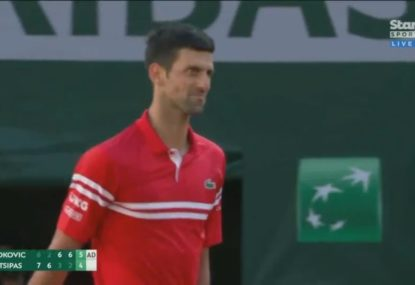 Novak Djokovic storms home to win his second French Open title