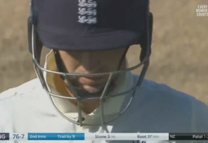 Former England captain slams his side's batting attitude after collapse against NZ