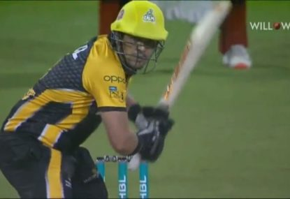 Peshawar opener caps off PSL debut with tournament's joint fastest 50
