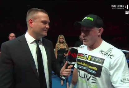 Paul Gallen reveals he suffered brutal injury early in fight with Justis Huni