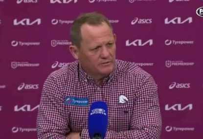 Kevin Walters cops a grilling as the whole club is put on notice