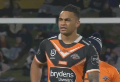 Ken Maumalo's Tigers debut goes from bad to worse after Bunker denies try