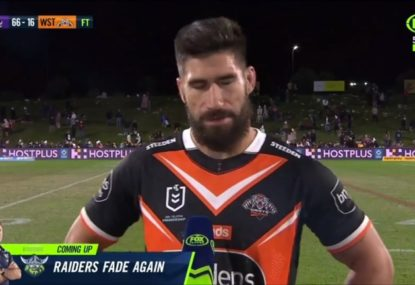 Gutted James Tamou spotlights finger-pointing and underlying issues at the Tigers