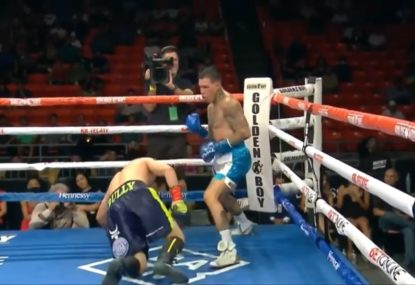 Boxing world stunned as massive outsider lands the knockout of a lifetime