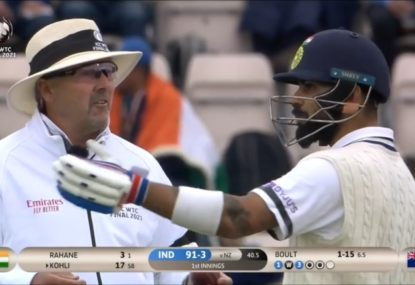 Virat Kohli bewildered by farcical DRS moment