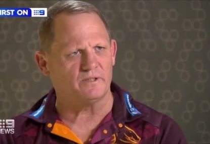 Kevvie Walters' defiant response to reports he's lost the Broncos playing group