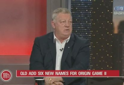 Phil Gould slams a key Queensland Origin selection for game two