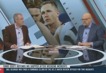 Robbo calls out Joel Selwood over controversial on-field incidents
