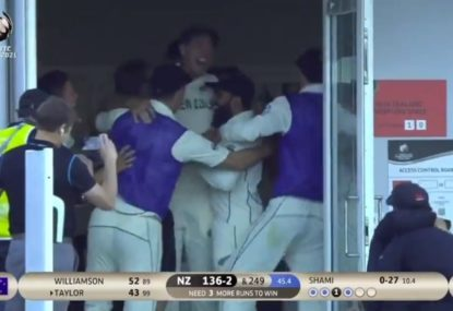 WATCH: Black Caps spark India collapse to win Test Championship final