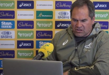 Wallabies coach Dave Rennie talks new rugby laws and the French squad