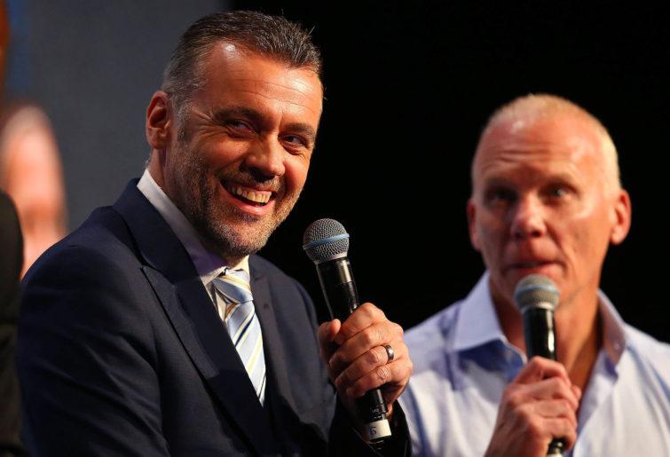 Football commentator Simon Hill