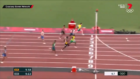 WATCH: Rohan Browning tears up the track to qualify first in 100m heat