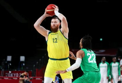 Freak bathroom incident rules Boomers star out of rest of Games