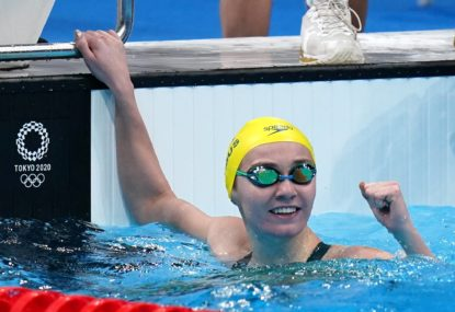 'Bloody exhausted,' but Arnie brings down Ledecky again for 200m gold