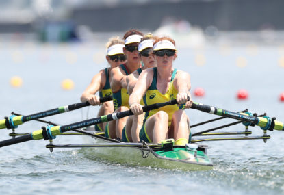 HISTORY: Two rowing golds for Australia in super morning