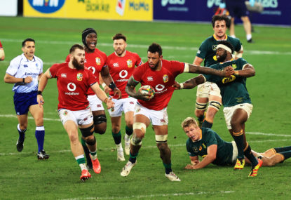 How the Lions won the battle of the big men in Cape Town