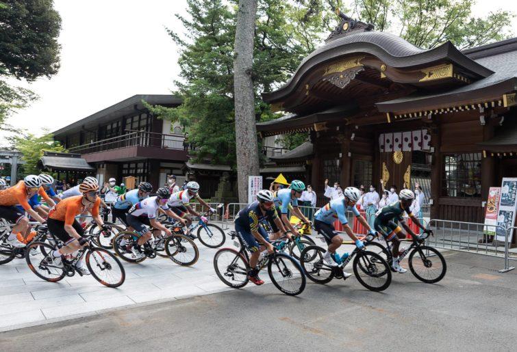 Men's road race in Tokyo