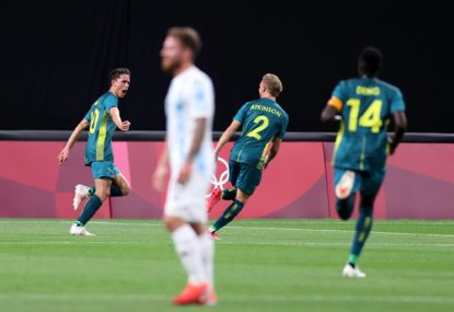 Olyroos stun Argentina: See how one of Olympic football's great boilovers unfolded