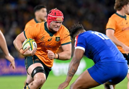 Let's focus on the moments between the madness for the Wallabies