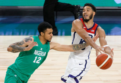 United States beaten in Olympics warm-up by... Nigeria?