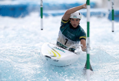 HEARTBREAK: Crucial late penalty forces Jessica Fox to settle for bronze