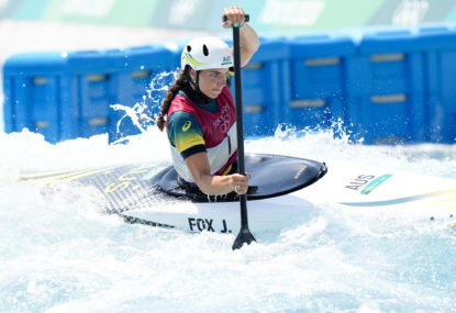 'I went and threw up': Jess Fox's unbearable tension before finally landing gold she's craved