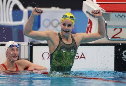 'She deserves it as much as I do': McKeown's beautiful podium invite to teammate after gold swim