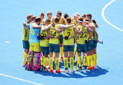 What time do the Kookaburras play Germany in their Olympic men's hockey semi-final tonight?