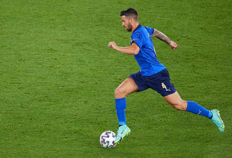 Leonardo Spinazzola of Italy