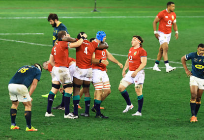 Match report: Lions roar back to down Springboks in first Test