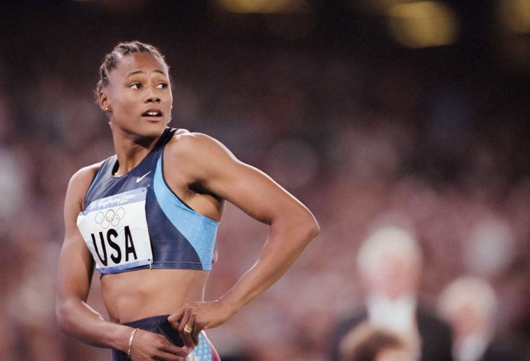 Marion Jones at the Sydney Olympics