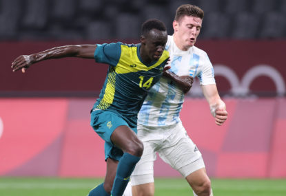 How Thomas Deng went from the Western Eagles to the Olyroos' captaincy