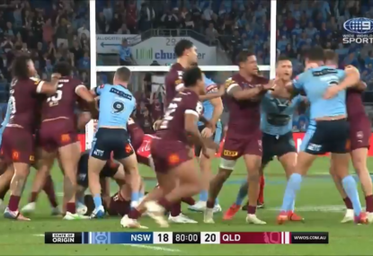 Fight erupts as Origin 3 finishes with a bang