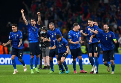 'You can't let a child go ahead of you': England stars roasted as Italy win Euros shootout