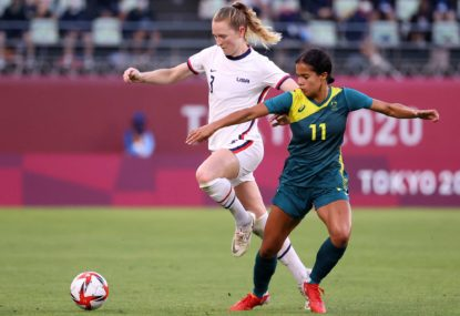 We must never forget that women's football is worth it