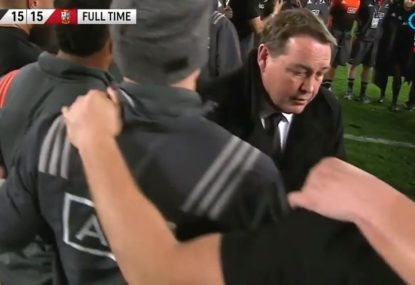 The controversial finish to the last Test played by the British & Irish Lions