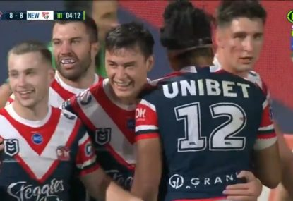 Commentators in awe at Victor Radley's 'Hail Mary' try assist