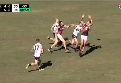 WATCH: Alex Rance impresses as fill-in for Essendon's VFL team