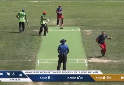 Pavel Florin presents: the best wicket celebration ever!